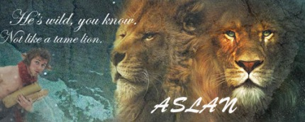 Aslan___Not_A_Tame_Lion_Banner_by_Hubert24601
